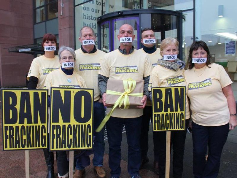 People Protesting Against Fracking In Woodsetts Are Set To Take On Ineos At A Public Inquiry Worksop Guardian