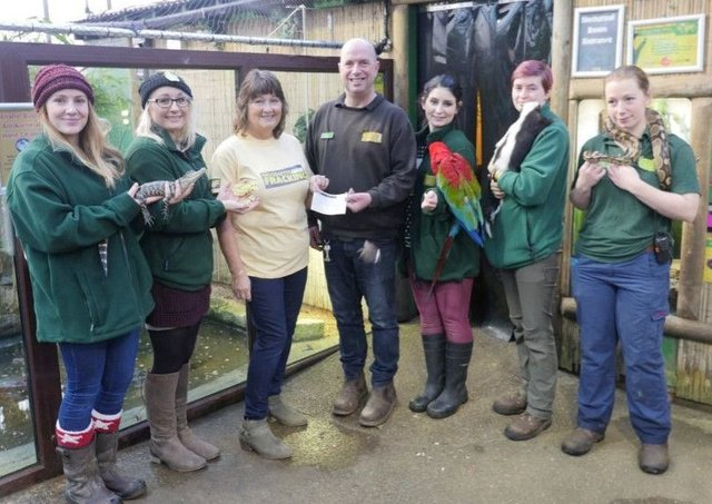 Tropical Butterfly House Donate A 500 To Woodsetts Anti Fracking Group Worksop Guardian
