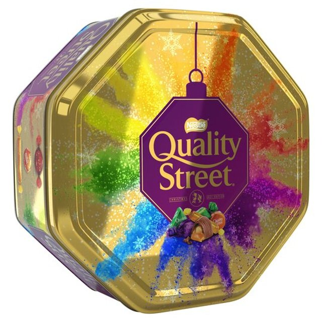 <p>Tesco is selling an exclusive gold version of the Quality Street Christmas Tub - for a limited time only </p>