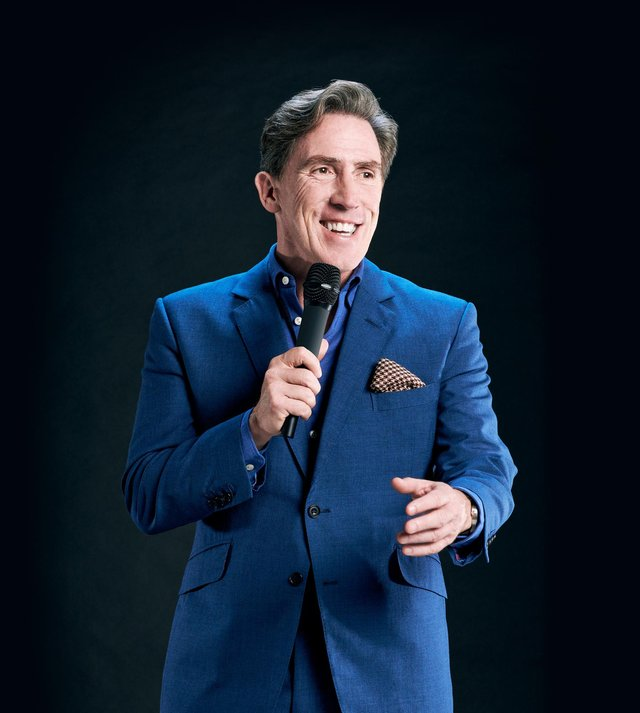 Comedian, actor and entertainer Rob Brydon