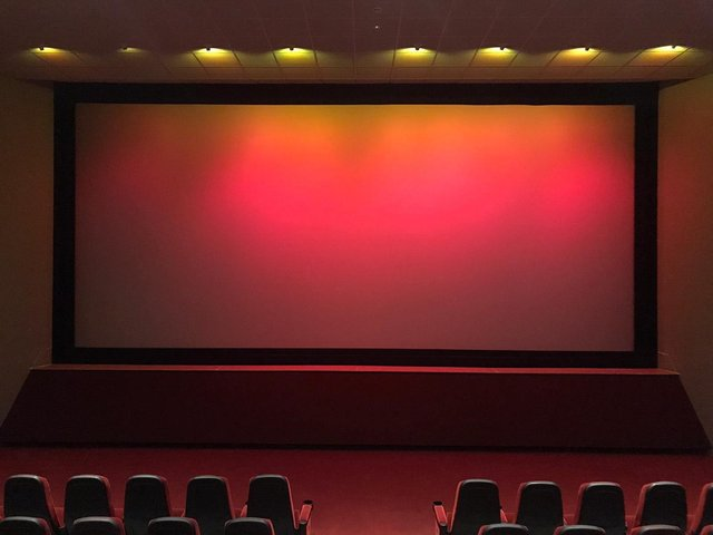 The new supersize screens at Worksop's Savoy Cinema.