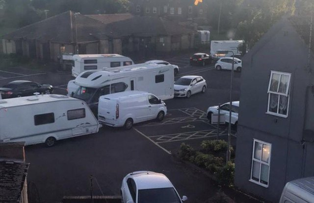 It's the second time in a month that travellers have gained access to Farr Park in Worksop.