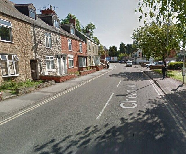 A man was allegedly held at a property in Worksop.