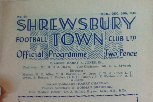 The programme cover.