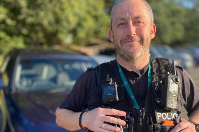 PC Jon Lee, of Nottinghamshire Police.