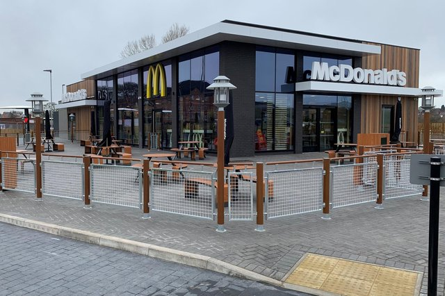 Take a look at Worksop's brand new Mcdonald's restaurant.
