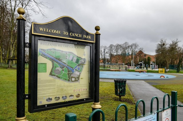 Police were called to The Canch park in Worksop.