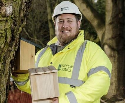 Bird boxes will be installed at The Edge in Worksop.