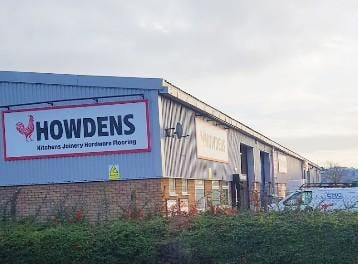 The Howdens depot in Worksop.