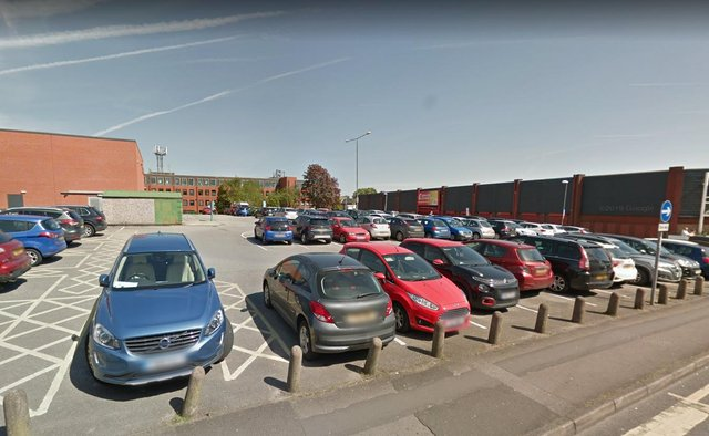 Police have closed off Newgate Street car park, in Worksop.