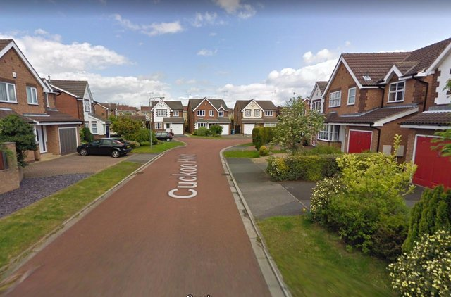 The incident happened in Cuckoo Holt, in Worksop. Picture: Google.