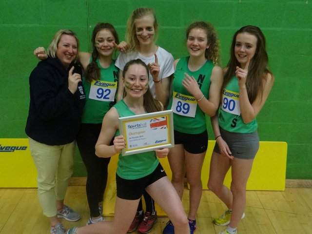 It's all smiles for this group of Worksop Harriers youngsters during an event back in 2015.
