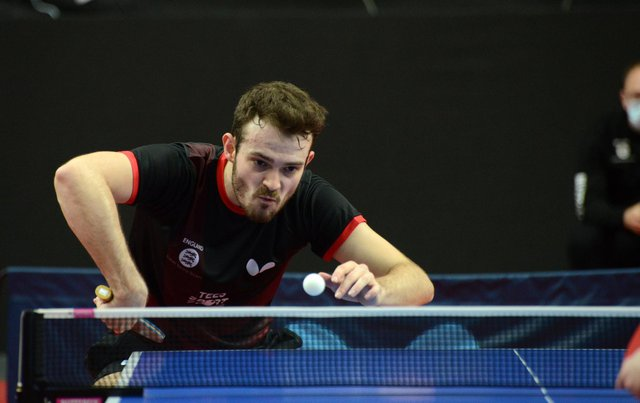 Sam Walker failed to clinch his place in the Olympics. Pic by ETTU.