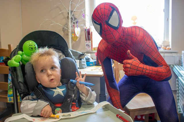Greencore's fundraising efforts will help Bluebell Wood be there for children like four-year-old Rudi