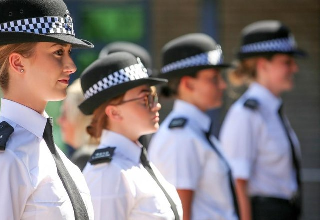 More than half of new police officer recruits in Nottinghamshire last year were women, figures reveal, as male domination in the ranks continues to subside. Photo: Notts Police.