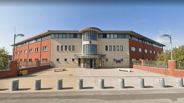 Mansfield Police Station.