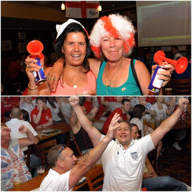 Can you spot anyone you know in these retro England football fans pictures?