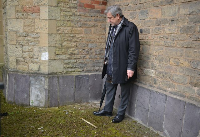 Gio DiCabria recently returned to the town after 25 years and was shocked to see how the Pruory Church and Gatehouse had been neglected.