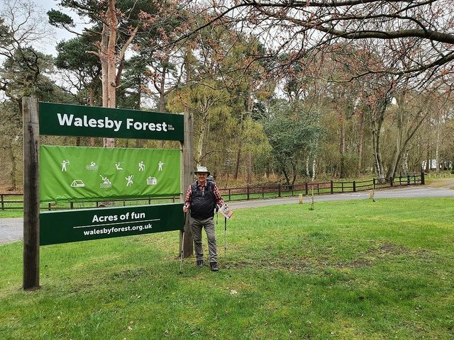 78-year-old David Huxley, president of the board of trustees at Walesby Forest in Nottinghamshire, is set to walk the Robin Hood Way – a total of 108 miles – to raise money for the centre.