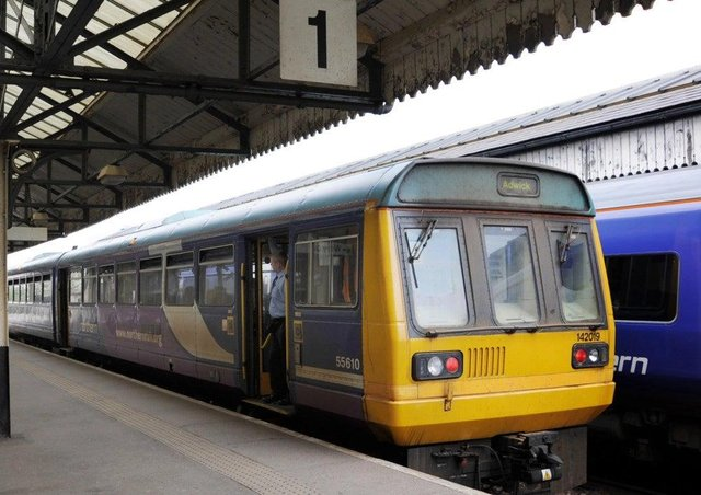 Northern Rail trains between Sheffield and Lincoln through Worksop and Retford are affected by the temporary closure of the line.