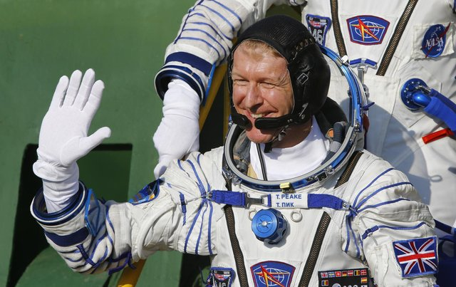 Tim was the first British ESA astronaut to visit the International Space Station, launching on a Soyuz rocket on 15 December 2015 with crewmates Tim Kopra and Yuri Malenchenko. He is pictured here as he boards the Soyuz TMA-19M spacecraft at the Russian-leased Baikonur cosmodrome, prior to blasting off to the International Space Station (ISS), on December 15, 2015. Picture: SHAMIL ZHUMATOV/AFP via Getty Images.  - b25lY21zOjQ1NzRhNDc4LThmOWQtNDVhMC1iOWZhLWY4YWU1OTU1NjNmMTo0M2MyMjE0NS00YmZiLTRmMDgtYmY4OC1jZDk3YmVmNzlhMTY  - The European Space Agency is recruiting new astronauts and this is how you can apply