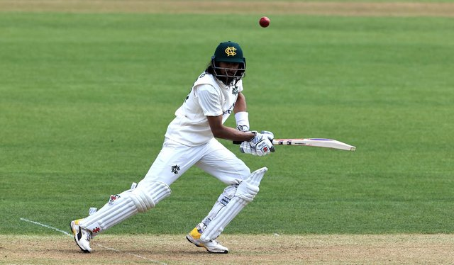Vice-Captain Hameed completed two hundreds in a first class match for the second time in his career. (Photo by David Rogers/Getty Images)