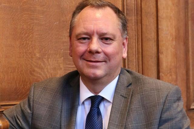 Dr John Price, head teacher at Worksop College