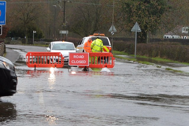 Nine deaths or injuries occurred in Nottinghamshire due to flooding or other water emergencies last year