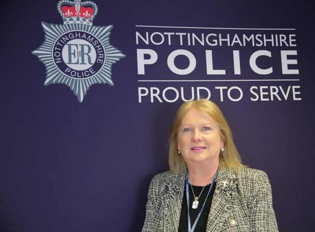 Heidi Duffy MBE, who now works as a traffic management officer for Nottinghamshire Police, experienced the tragic loss of her mum to cancer in 1977.