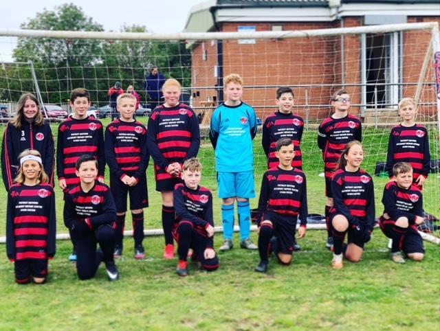 Worksop's Laughton FC under-12s side