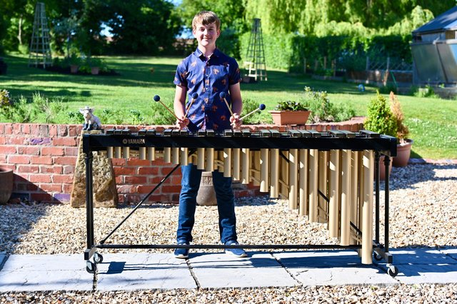 Christian Aldridge, aged 13, from Tuxford, was crowned the Independent Schools' Association's Musician of the Year' for his age group.