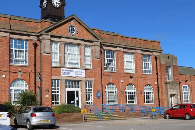 Rotherham College's former Dinnington campus