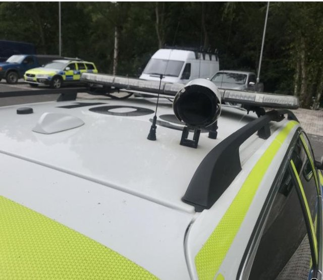 Nottinghamshire Police has installed high-tech tracker devices in itscars.