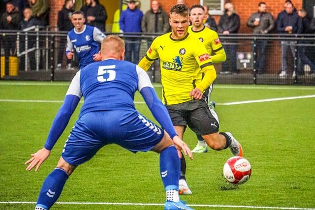 Worksop Town midfielder Aleksandrs Starcenko is ready to work hard.