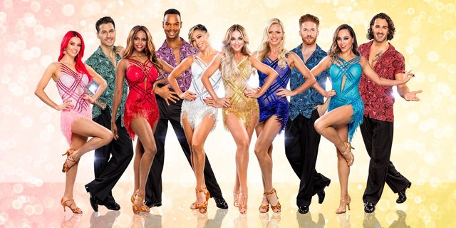 Strictly Come Dancing - The Professionals can be seen at Nottingham and Sheffield venues