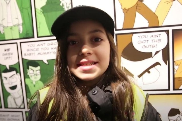 Nottinghamshire Police's Mini Police have added their young voices to the Operation Sceptre campaign by recording a short video