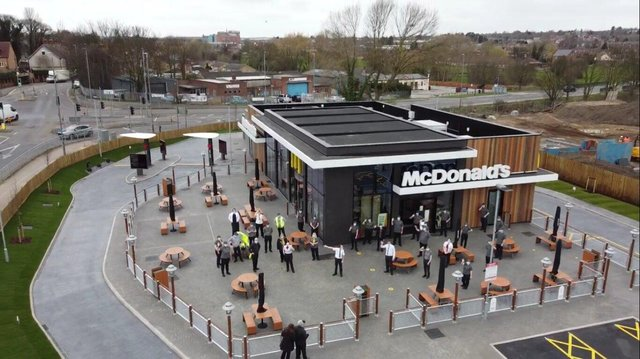 The new branch has created 100 jobs for Worksop.