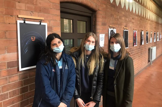 Pupils at Worksop College are finally reunited with friends after nearly three months apart.