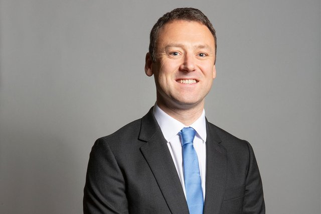 Brendan Clarke-Smith, Bassetlaw MP. Photo: London Portrait Photographer-DAV