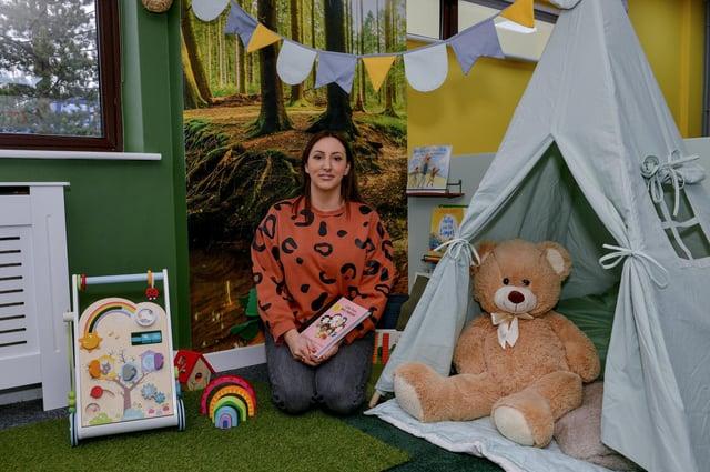 Tara Davies, owner of My Playful World, new imaginative play centre in Tuxford
