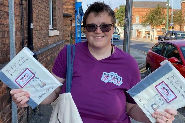 Liz Carney-Marsh, North Notts Literary Ambassador and North Notts Lit Fest Festival Director