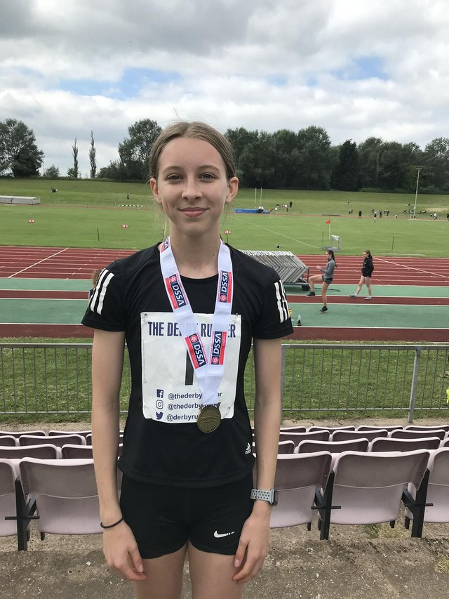 Alicia Wells had a successful double, winning gold in the 300m and a silver in the 75m hurdles.
