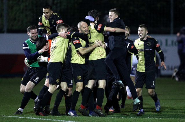 Marine FC will face Spurs in the FA Cup third round after a fairytale run. (Photo by Jan Kruger/Getty Images)