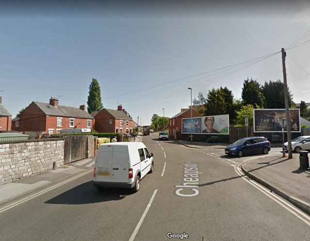 A man was held against his will at an address in Cheapside, Worksop.