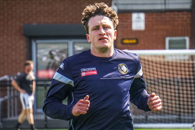 Jake Picton is fit and ready to go. Pic by Lewis Pickersgill.