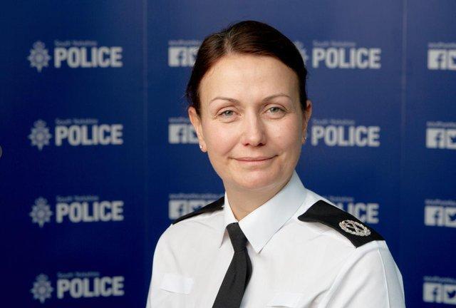 Chief Constable Lauren Poultney
