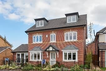 An artist's impression of one of the homes at the new development.