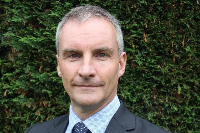 Jonathan Gribbin,  director for public health in Nottinghamshire.