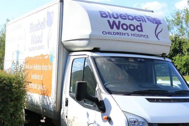 Bluebell Wood Children's Hospice is offering a home collection service for supporters wanting to donated items to the charity's shops.