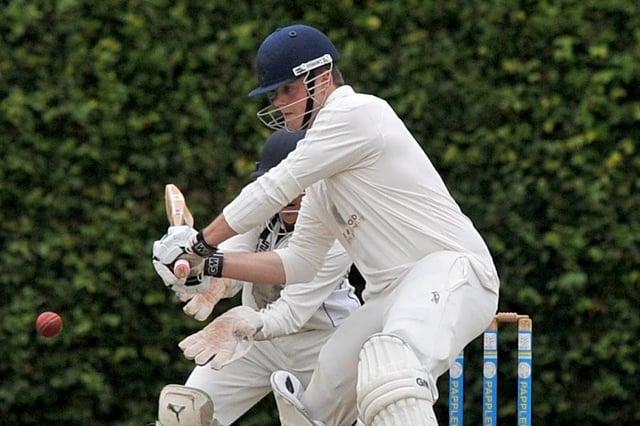 Worksop batsman Tim Smith - a superb 96 against Mansfield.